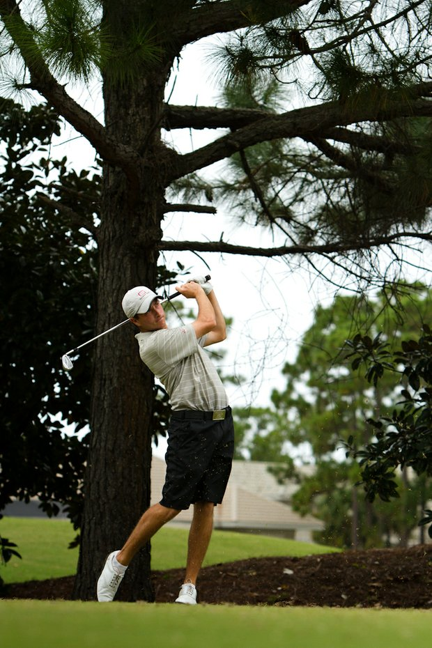 Guilford's Noah Ratner shot a 69 on Monday.