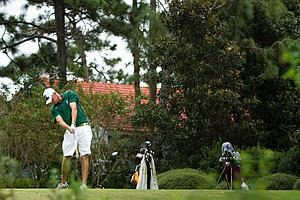 Illinois Wesleyan junior Stefan Johnson is one of two players to break par in Round 2 at the Golfweek Fall Invitational.