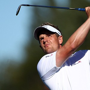 Luke Donald during the final round of the Madrid Masters.