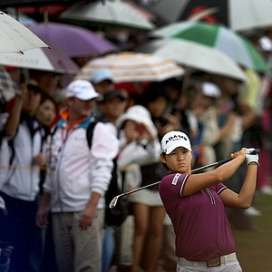 Yani Tseng during Friday's round. Tseng is in third place heading into the weekend.