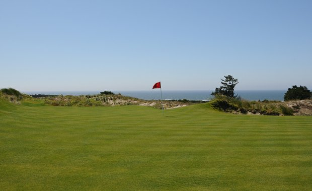 With few exceptions, the Pacific Ocean is visible from every hole on The Preserve, but it really is part of the feeling of playing the Preserve starting at the third hole.