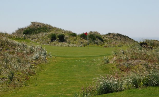 Just 106 yards, the third is the shortest hole at The Preserve.  It is also the pathway to the meat of The Preserve.