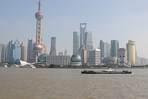A look at the back of Shanghai, the site of this week's HSBC Champions tournament.