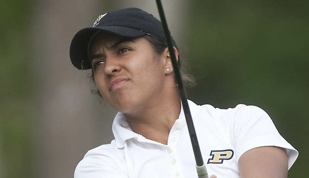 Paula Reto won her first collegiate victory at the Landfall Tradition.