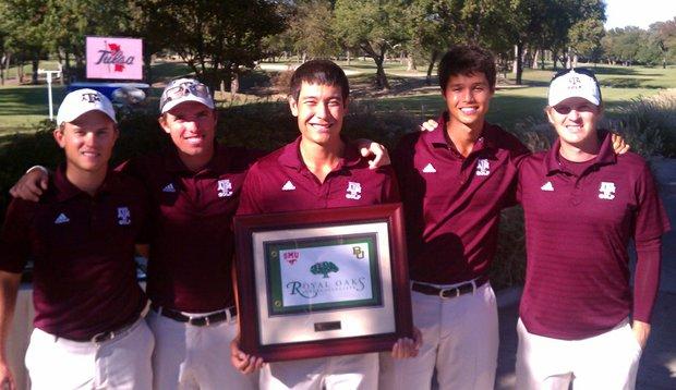 Texas A&M after winning the Royal Oaks Intercollegiate