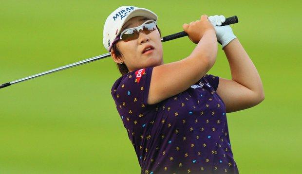 Jiyai Shin during the Sime Darby LPGA.