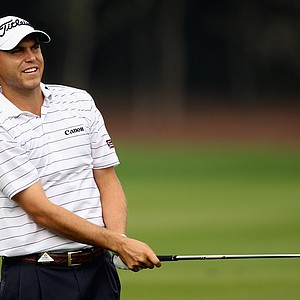 Bill Haas during the first round of the WGC-HSBC Champions at Sheshan International Golf Club.