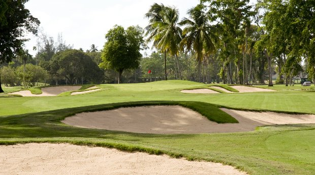 Hole No. 16 at Dorado Beach East