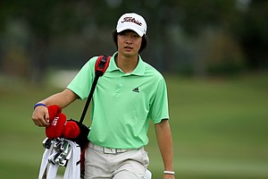 James Yoon during the Golfweek East Coast Junior Invitational at Shingle Creek Golf Club.-