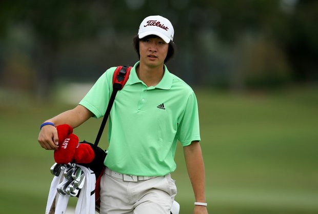 James Yoon during the Golfweek East Coast Junior Invitational at Shingle Creek Golf Club.-