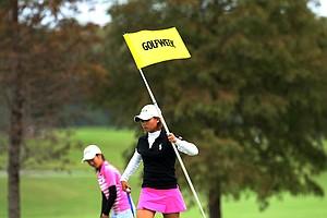 Karen Arimoto during the Golfweek East Coast Junior Invitational at Shingle Creek Golf Club.