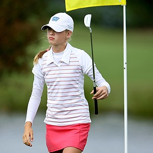 Nelly Korda during the Golfweek East Coast Junior Invitational at Shingle Creek Golf Club.