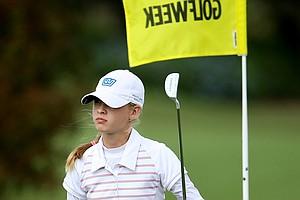 Nelly Korda during the Golfweek East Coast Junior Invitational at Shingle Creek Golf Club.
