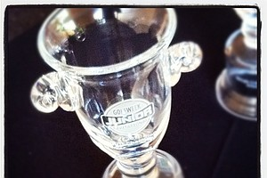 Trophy for the Golfweek East Coast Junior Invitational a Shingle Creek Golf Club.  (Taken with Instagram)