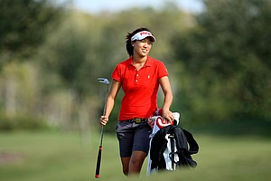 Annie Park is all smiles after winning the Golfweek East Coast Junior Invitational at Shingle Creek Golf Club.