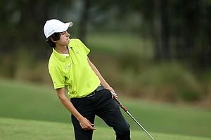 Julio Arguelles Badillo during the Golfweek East Coast Junior Invitational at Shingle Creek Golf Club.