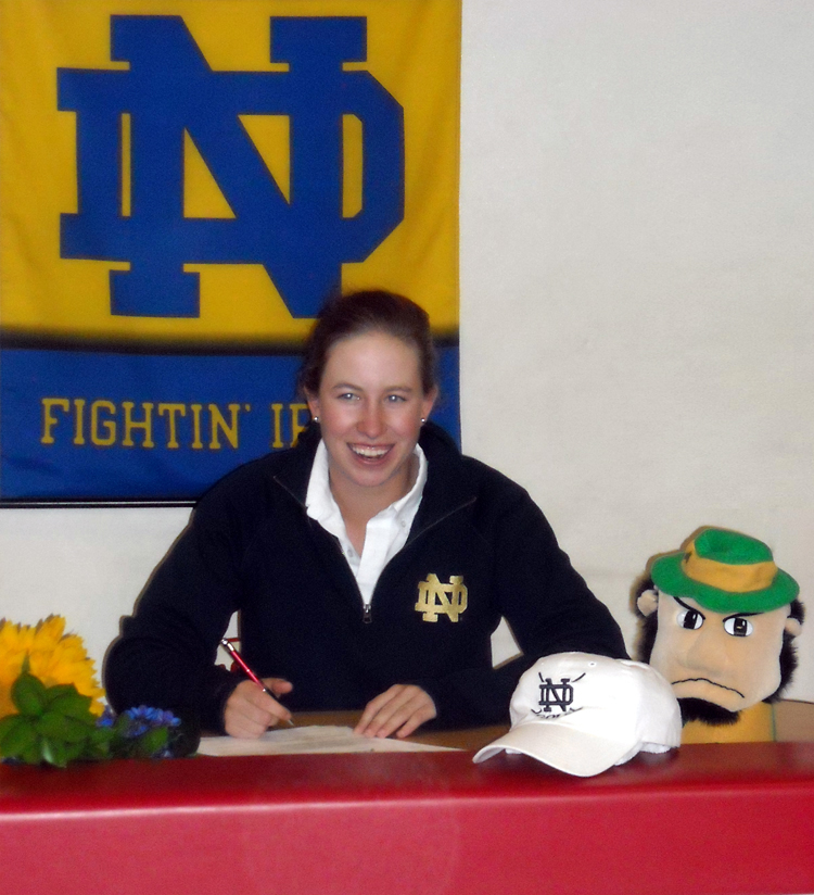 Talia Campbell signs with Notre Dame