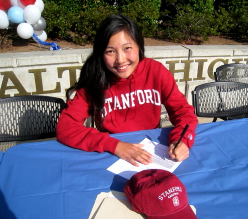 Lauren Kim signs with Stanford