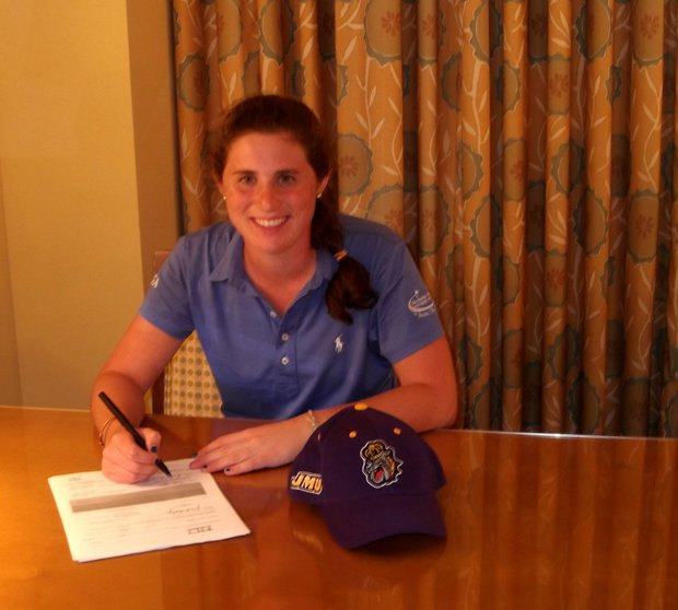 Ali Eleey signs with James Madison