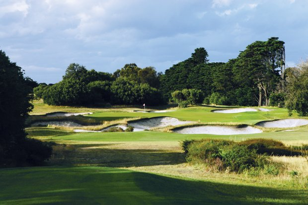 No. 16 on Royal Melbourne's East Course, No. 14 on the Composite Course.