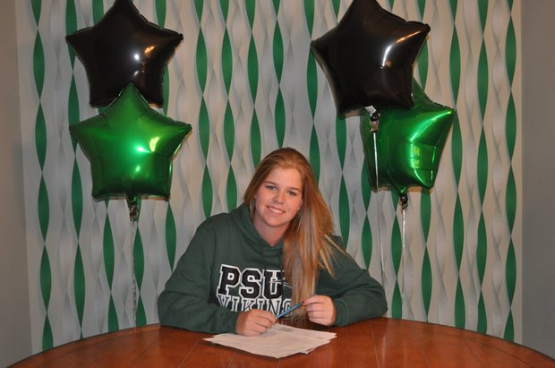 Riley Leming signs with Portland State.