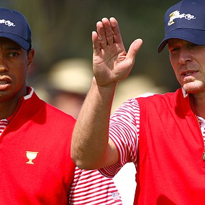 Tiger Woods and Steve Stricker will partner for opening foursomes.
