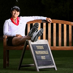 Yani Tseng photographed at Lake Nona Golf and Country Club.