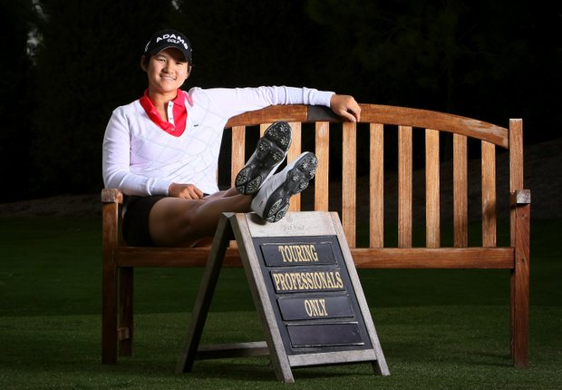Yani Tseng photographed at Lake Nona Golf and Country Club.