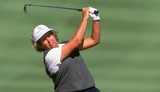 Hollis Stacy during the 2000 U.S. Women's Open.