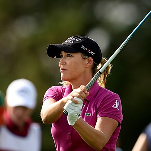 Cristie Kerr at No. 11 on Friday at the CME Group Titleholders at Grand Cypress in Orlando, Fla.