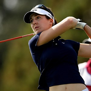 Sandra Gal is in second after the second round at the CME Group Titleholders at Grand Cypress in Orlando, Fla.