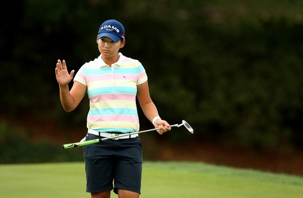 Yani Tseng posted a 66 on Saturday at the CME Group Titleholders at Grand Cypress in Orlando, Fla.