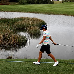 Yani Tseng makes her way along the 11th hole on Saturday during Round 3. Tseng posted a 66 on Saturday.