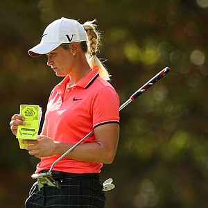 Suzann Pettersen during the final round of the CME Group Titleholders at Grand Cypress in Orlando, Fla.