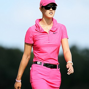 Michelle Wie during the final round of the CME Group Titleholders at Grand Cypress in Orlando, Fla.