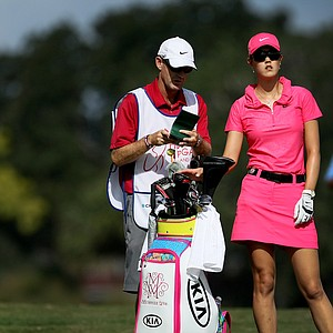 Michelle Wie during the final round o the CME Group Titleholders at Grand Cypress in Orlando, Fla.