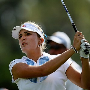 Lexi Thompson during the final round of the CME Group Titleholders at Grand Cypress in Orlando, Fla.