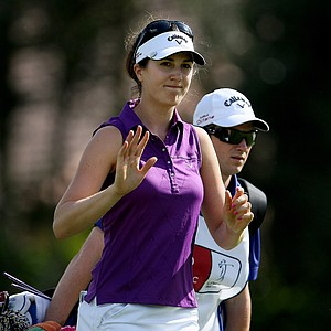 Sandra Gal during the final round of the CME Group Titleholders at Grand Cypress in Orlando, Fla.