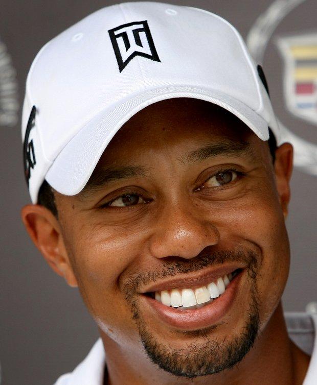 Tiger Woods at World Golf Championships at Doral Resort and Spa.
