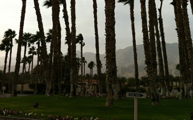 Wind howls during Round 2 of PGA Tour Q-School at PGA West.