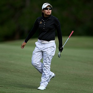 Thidapa Suwannapura of Thailand during the third round of LPGA Qualifying School.