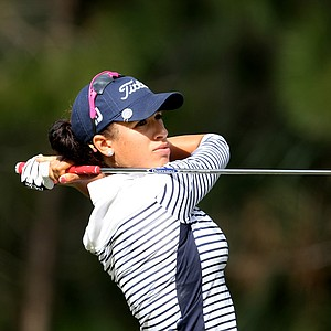 Shasta Averyhardt during the third round of LPGA Qualifying Tournament. Averyhardt is T62 after three rounds.