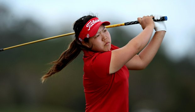 Christine Song during the third round of the LPGA Qualifying Tournament at LPGA International.
