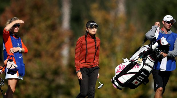 Ayaka Kaneko of Hawaii posted a 67 during the fourth round. Kaneko moved from 78 to 19th place making the cut to play in the final round.