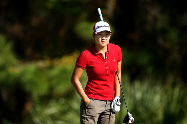Hannah Yun during the final round of LPGA Qualifying Tournament at LPGA International.