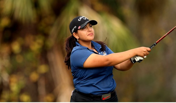 Lizette Salas birdied all three holes in the playoff to get the last LPGA membership during the final round of LPGA Qualifying Tournament.