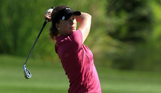 Lotta Wahlin during the first round of the Dubai Ladies Masters.