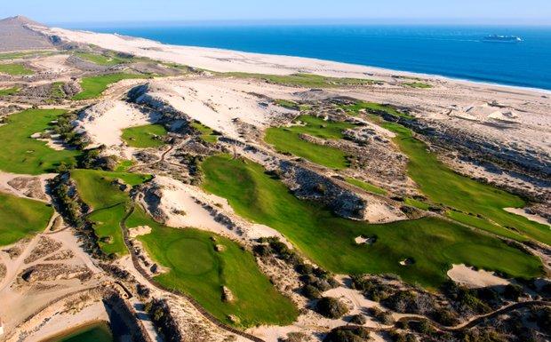 An aerial of Diamante Cabo San Lucas