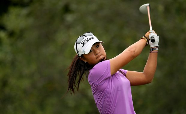 Danielle Kang during the Semifinals at the U. S. Women's Amateur Championship at Rhode Island Country Club in Barrington, Rhode Island. Kang defended her title as U. S. Women's Amateur Champion.