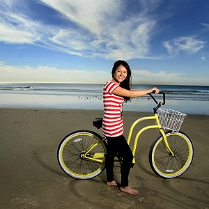 Ai Miyazato photographed in Newport Beach, California for Golfweek for Her. The shoot happened only weeks before a earthquake and tsunami devastated Miyazato's home country of Japan. The images never made it into the Golfweek for Her issue.